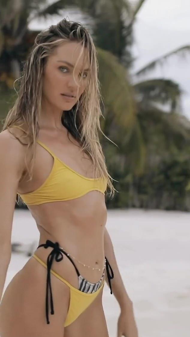 Candice-Swanepoel-yellow-bralette-photoshoot-spring-summer-2021