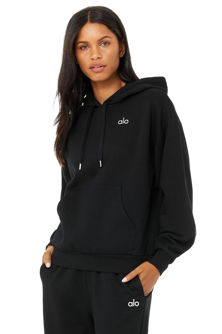 ACCOLADE HOODIE by Alo Yoga, available on aloyoga.com for $118 Alessandra Ambrosio Top Exact Product