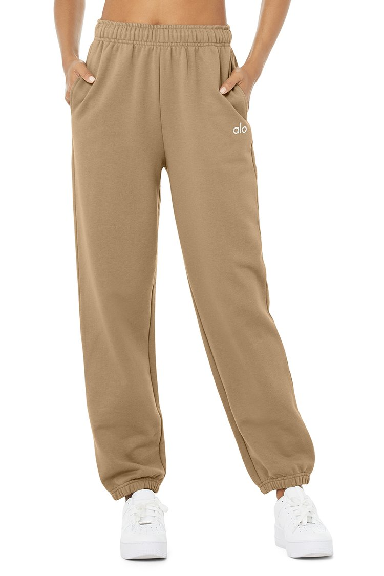 ACCOLADE SWEATPANT by Alo, available on aloyoga.com for $108 Alessandra Ambrosio Pants Exact Product