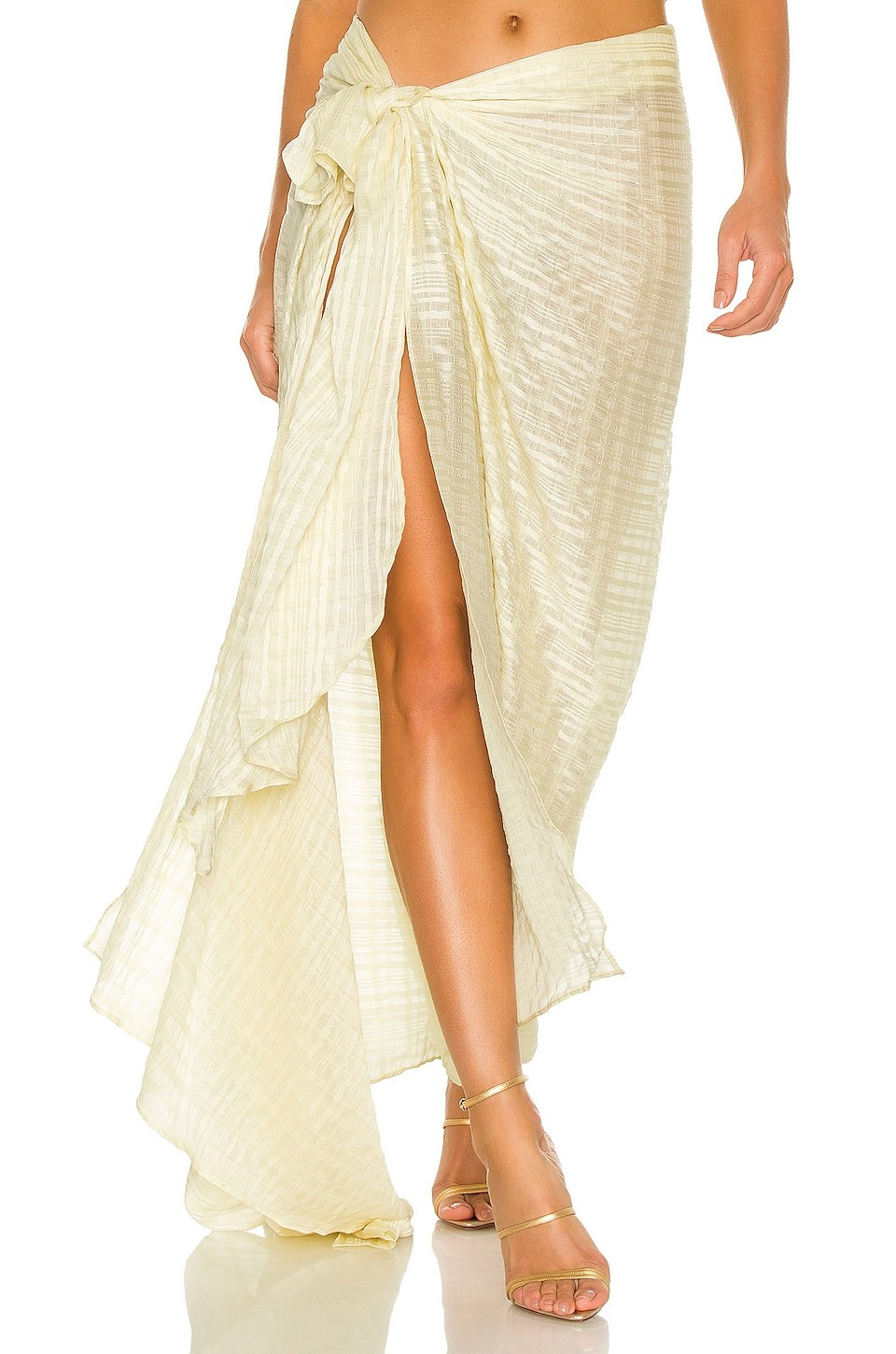 Amari Skirt by Bronx and Banco, available on revolve.com for $450 Alessandra Ambrosio Skirt Exact Product