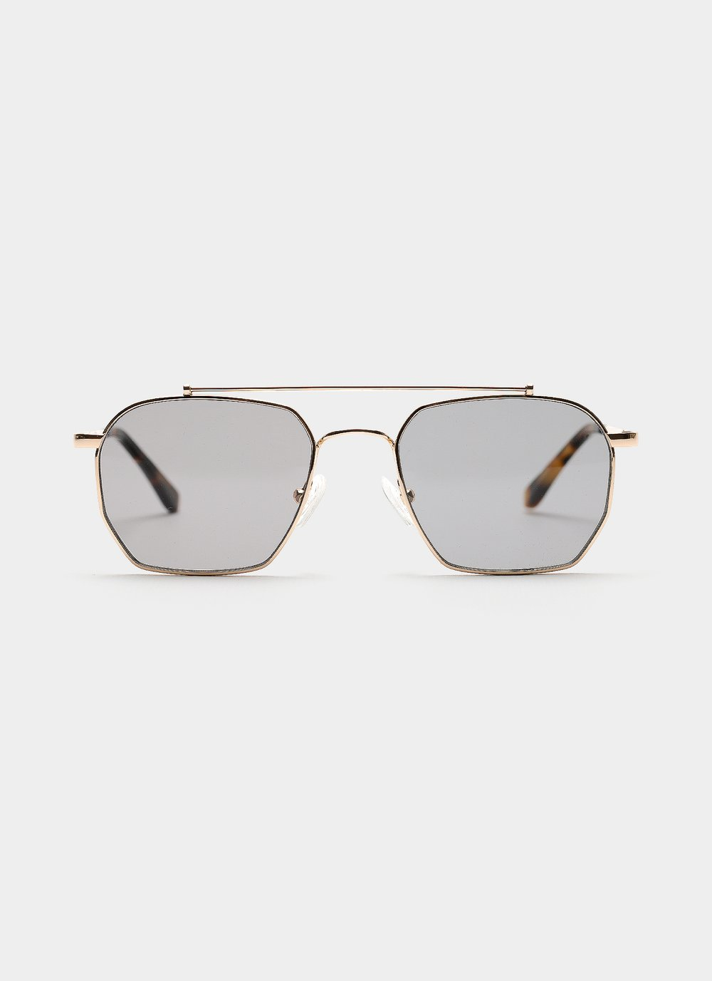 BOWIE - GOLD/GRAPHITE by Vehla, available on vehlaeyewear.com for $180 Alessandra Ambrosio Sunglasses Exact Product