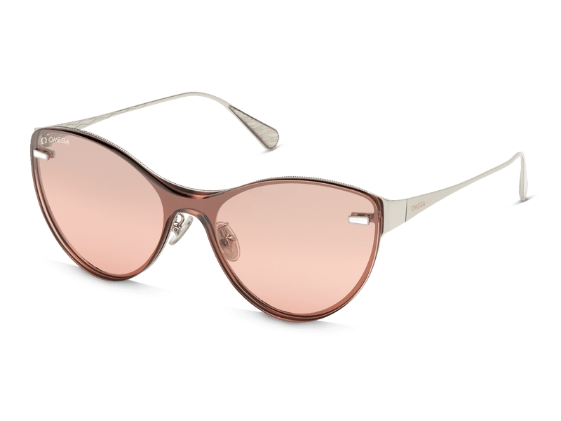 Cat Eye style OM0022-H0018U by Omega, available on omegawatches.com for $630 Alessandra Ambrosio Sunglasses Exact Product
