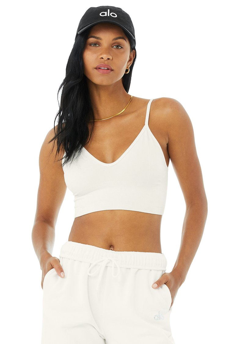 DELIGHT BRALETTE by Alo Yoga, available on aloyoga.com for $58 Alessandra Ambrosio Top Exact Product