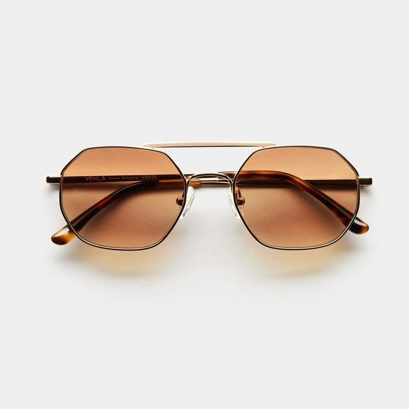 GOLD/HONEY by ARTESIA, available on vehlaeyewear.com for ₹15000 Alessandra Ambrosio Sunglasses Exact Product