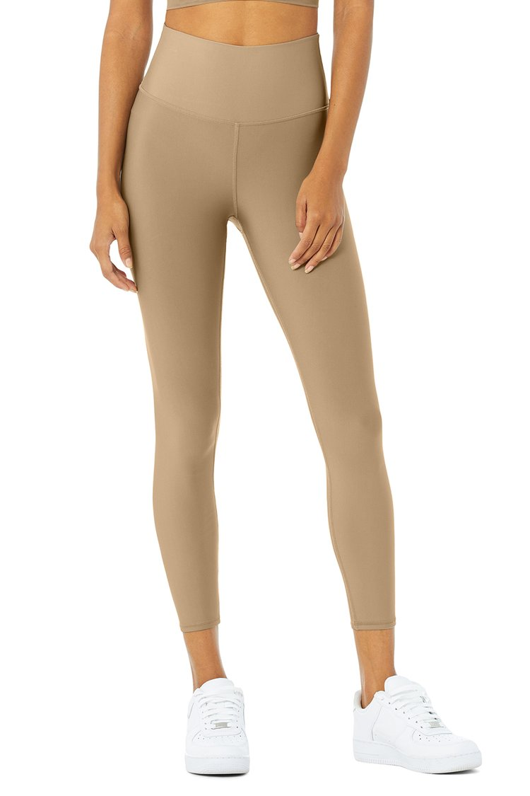 HIGH-WAIST AIRLIFT LEGGING by Alo Yoga, available on aloyoga.com for $118 Alessandra Ambrosio Pants Exact Product