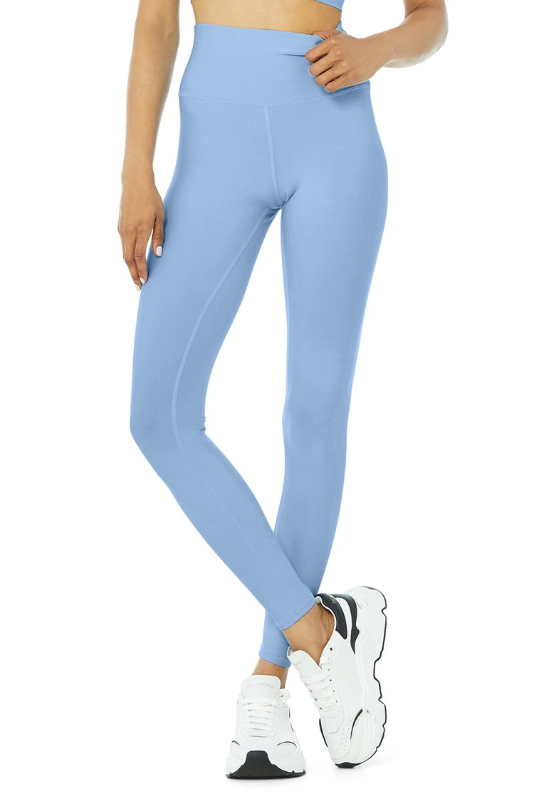 HIGH-WAIST AIRLIFT LEGGING by Alo, available on aloyoga.com for $118 Alessandra Ambrosio Pants Exact Product