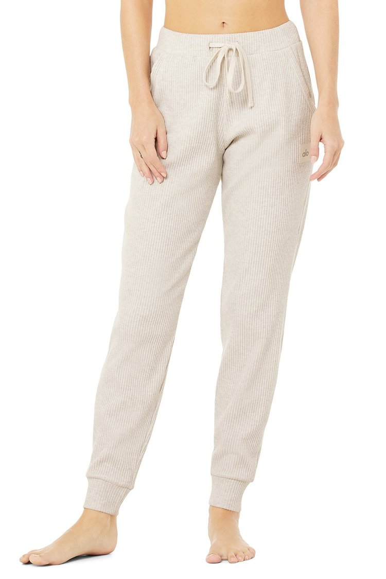 MUSE SWEATPANT by Alo Yoga, available on aloyoga.com for $98 Alessandra Ambrosio Pants Exact Product