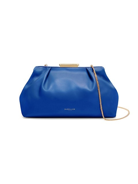 Mini Florence Leather Pouch Clutch by DeMellier, available on saksfifthavenue.com for $458.4 Alessandra Ambrosio Bags Exact Product
