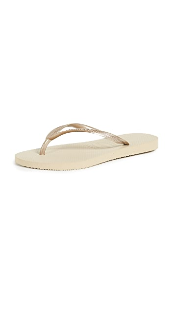 Slim Flip Flops by Havaianas, available on shopbop.com for $26 Alessandra Ambrosio Shoes Exact Product