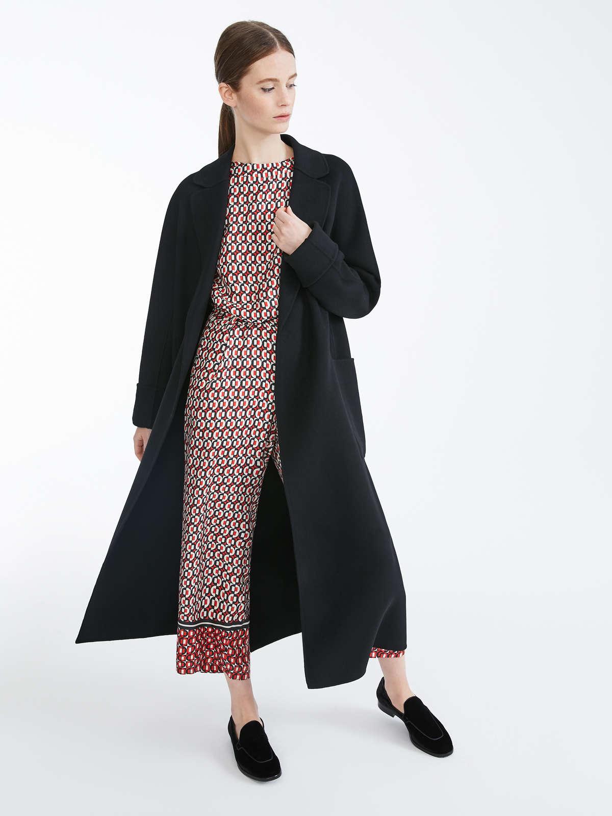 Algeri Coat by Max Mara, available on maxmara.com for EUR733 Angelina Jolie Outerwear Exact Product