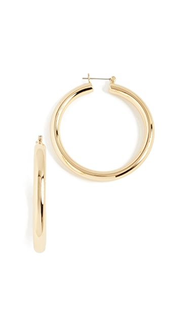 Amalfi Tube Earrings by Luv Aj, available on shopbop.com for $55 Bella Hadid Jewellery Exact Product
