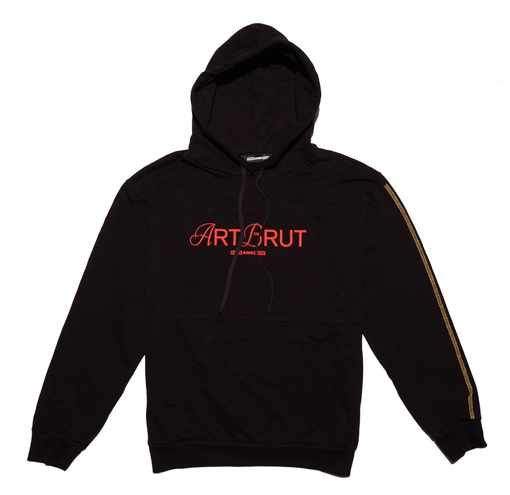 Art Brut Hoodie by Foo and Foo, available on fooandfoo.com for $169 Bella Hadid Outerwear SIMILAR PRODUCT