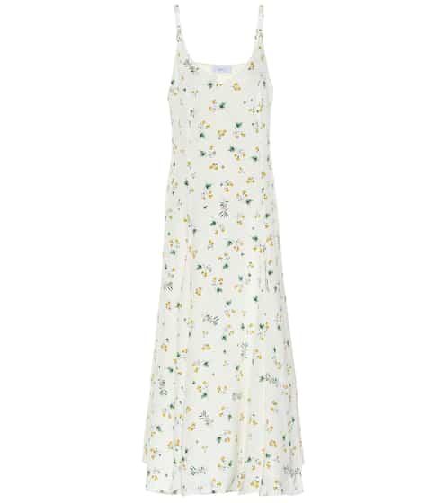 Ava silk crêpe slip dress by Racil, available on mytheresa.com for EUR503 Bella Hadid Dress SIMILAR PRODUCT