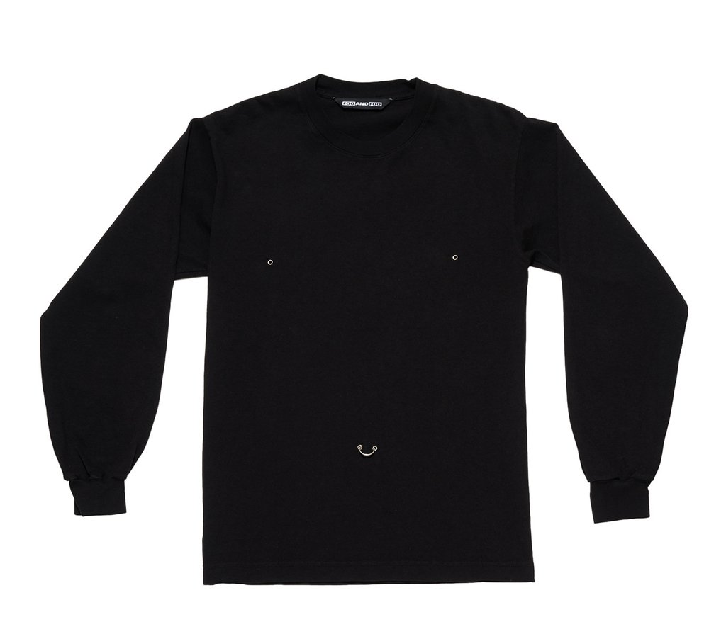 Belly Long Sleeve Tee by Foo and Foo, available on fooandfoo.com for $70 Bella Hadid Outerwear SIMILAR PRODUCT