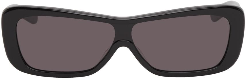 Black Veneda Carter Edition Disco Sunglasses by FLATLIST EYEWEAR, available on ssense.com for $260 Bella Hadid Sunglasses Exact Product