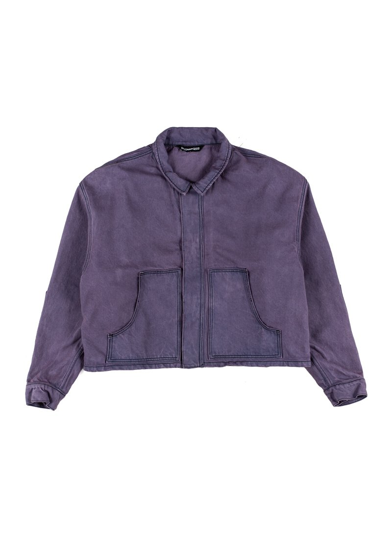 Boner Denim Jacket by Foo and Foo, available on fooandfoo.com for $375 Bella Hadid Outerwear Exact Product
