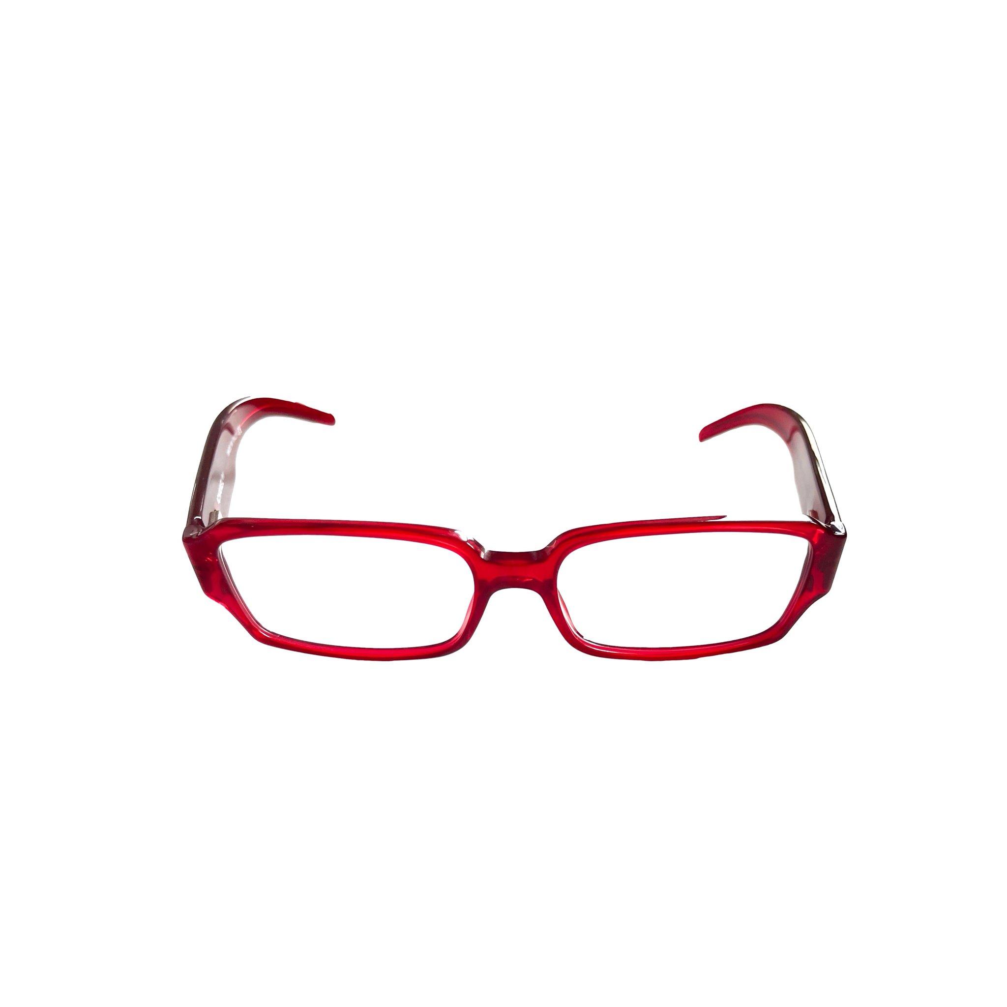 Chanel Red Rhinestone Slim Glasses by treasure, available on treasuresofnewyorkcity.com for $310 Bella Hadid Sunglasses Exact Product