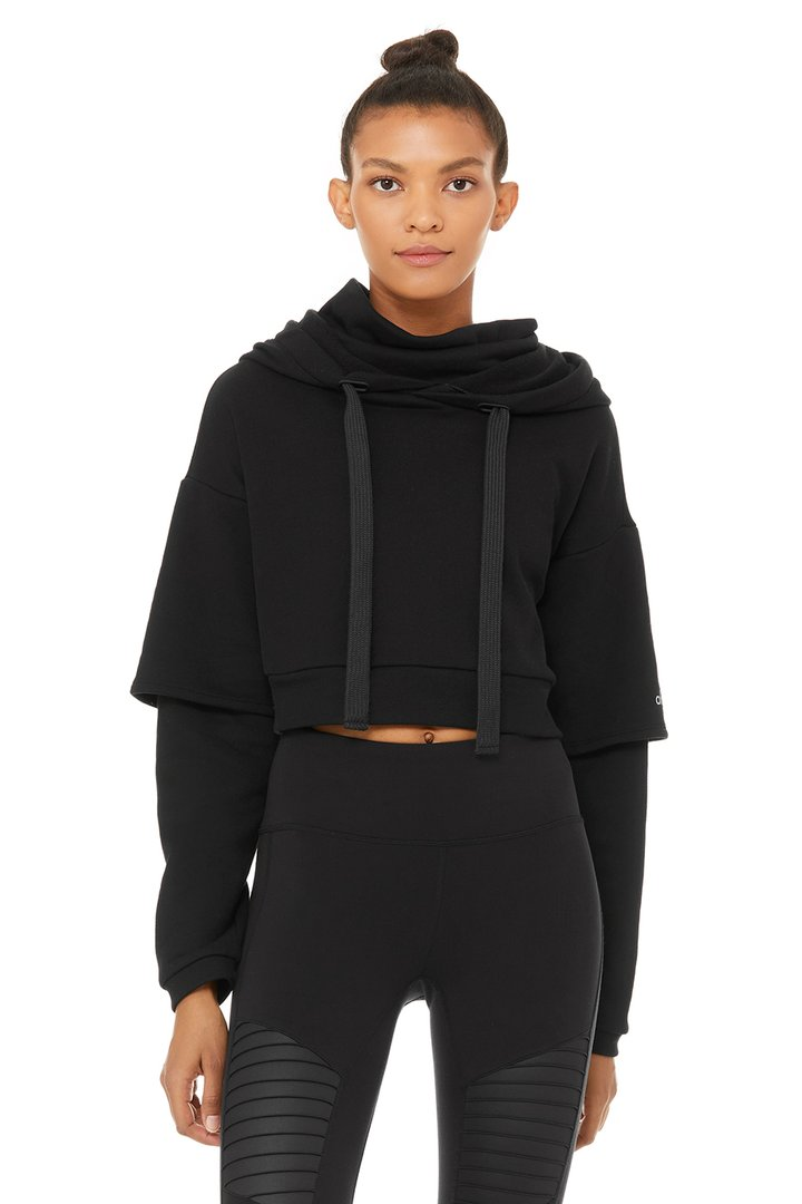 Eternal Hoodie by Alo Yoga, available on aloyoga.com for $108 Bella Hadid Outerwear SIMILAR PRODUCT