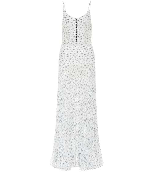 Floral silk maxi dress by Chloé, available on mytheresa.com for EUR1525 Bella Hadid Dress SIMILAR PRODUCT