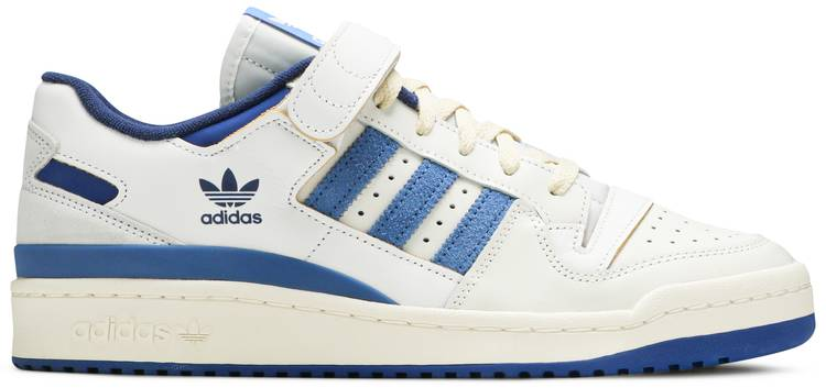 Forum 84 Low OG 'Bright Blue' by Adidas, available on goat.com for $140 Bella Hadid Shoes Exact Product