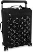Louis Vuitton Horizon Suitcase Soft Jacquard 55 Black, available on stockx.com for $4900 Bella Hadid Pants SIMILAR PRODUCT