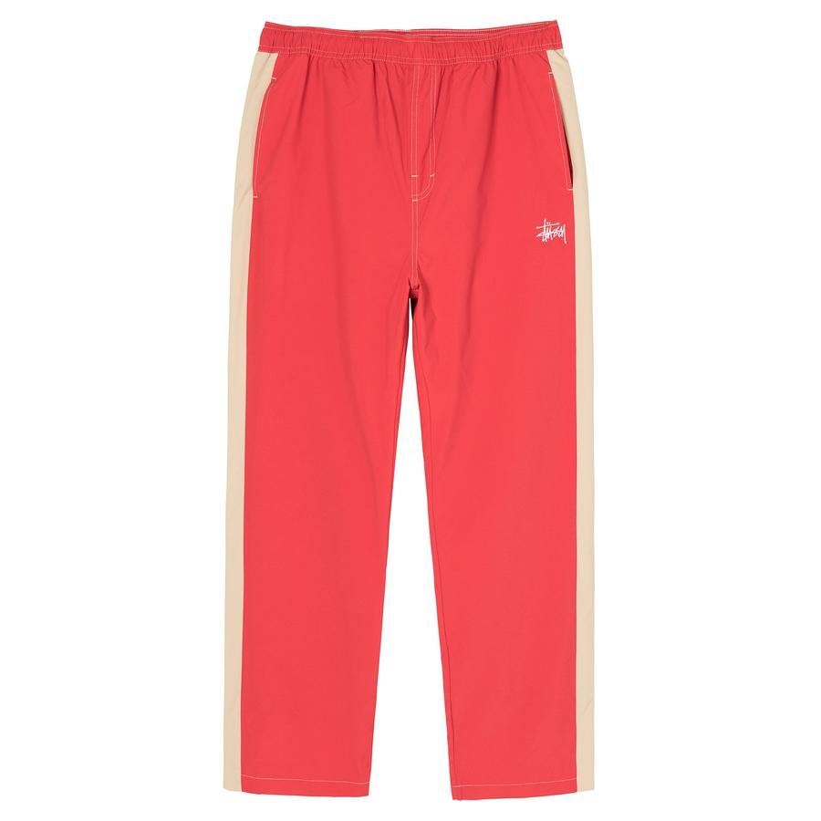 PANEL TRACK RELAXED PANT by Stussy, available on stussy.com for $130 Bella Hadid Pants Exact Product