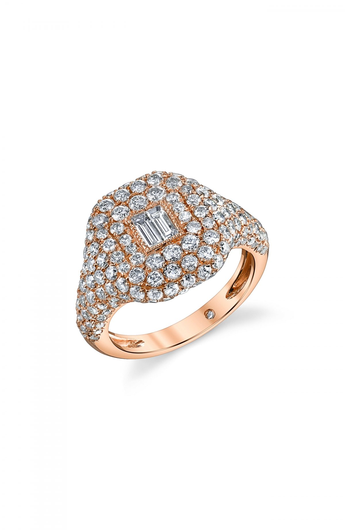 Pavé Diamond Pinky Ring by Shay, available on nordstrom.com for $5040 Bella Hadid Jewellery Exact Product