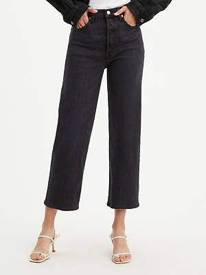 Ribcage Straight Ankle Women's Jeans by Levi's, available on levi.com for $98 Bella Hadid Pants SIMILAR PRODUCT