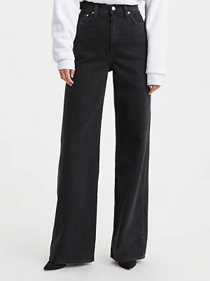 Ribcage Wide Leg Women's Jeans by Levi's, available on levi.com for $98 Bella Hadid Pants Exact Product