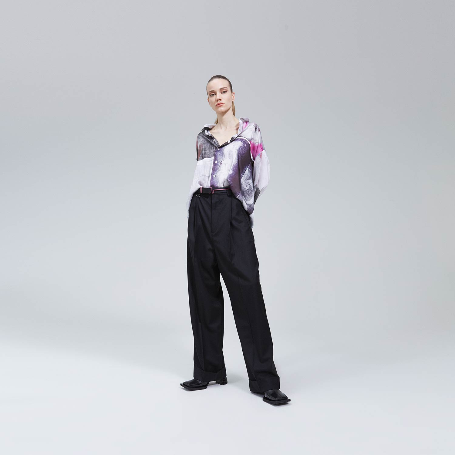 Roxy Trousers by Eytys, available on eytys.com for SEK3000 Bella Hadid Pants Exact Product