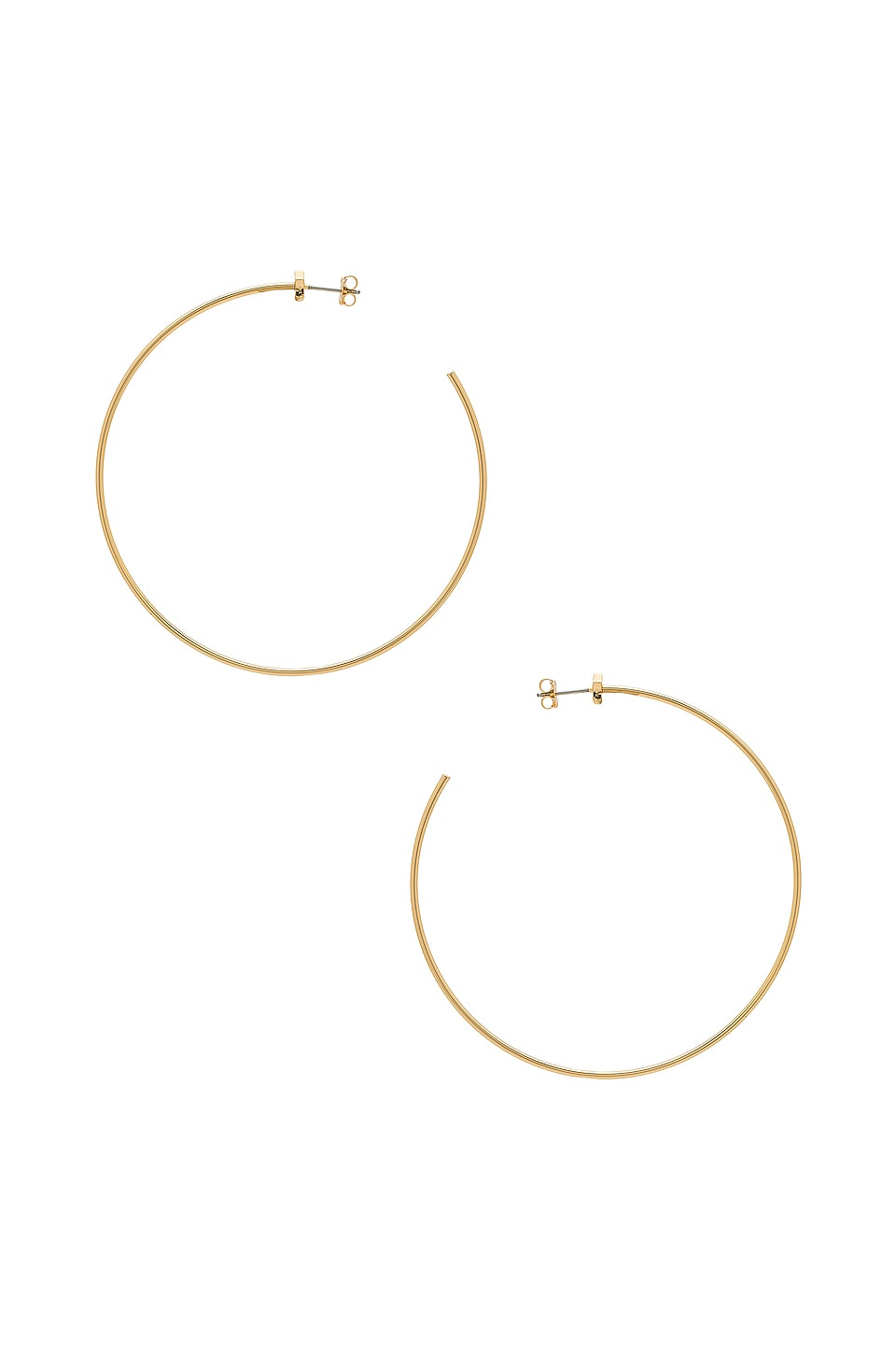 Starlet Hoops by Jenny Bird, available on revolve.com for $70 Bella Hadid Jewellery Exact Product