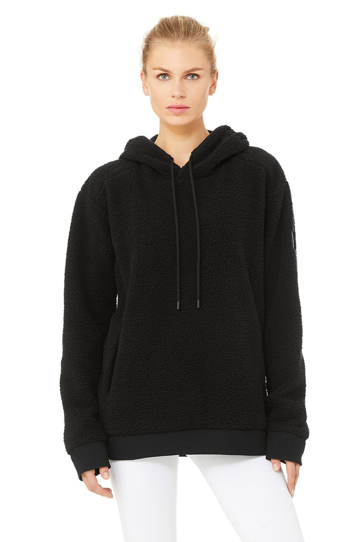 Unisex Sherpa by Alo Yoga, available on aloyoga.com for $168 Bella Hadid Outerwear SIMILAR PRODUCT