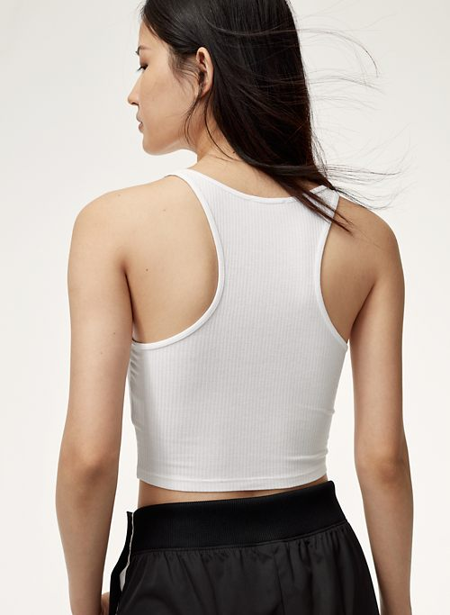 crop top by Aritzia, available on aritzia.com Bella Hadid Top Exact Product
