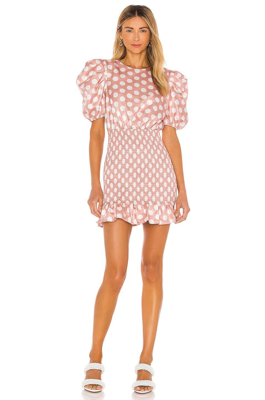 Florentino Mini Dress by Camila-Coelho, available on revolve.com for $218 Camila Coelho Dress Exact Product