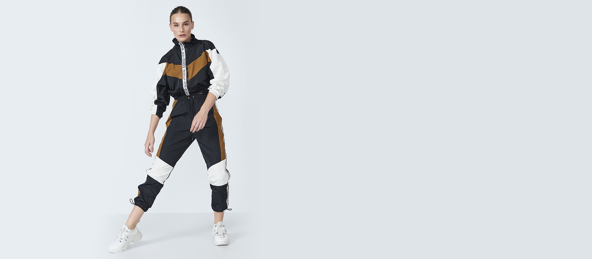 Jogging Sport Pants by Colcci, available on colcci.com.br for $3 Camila Coelho Pants Exact Product