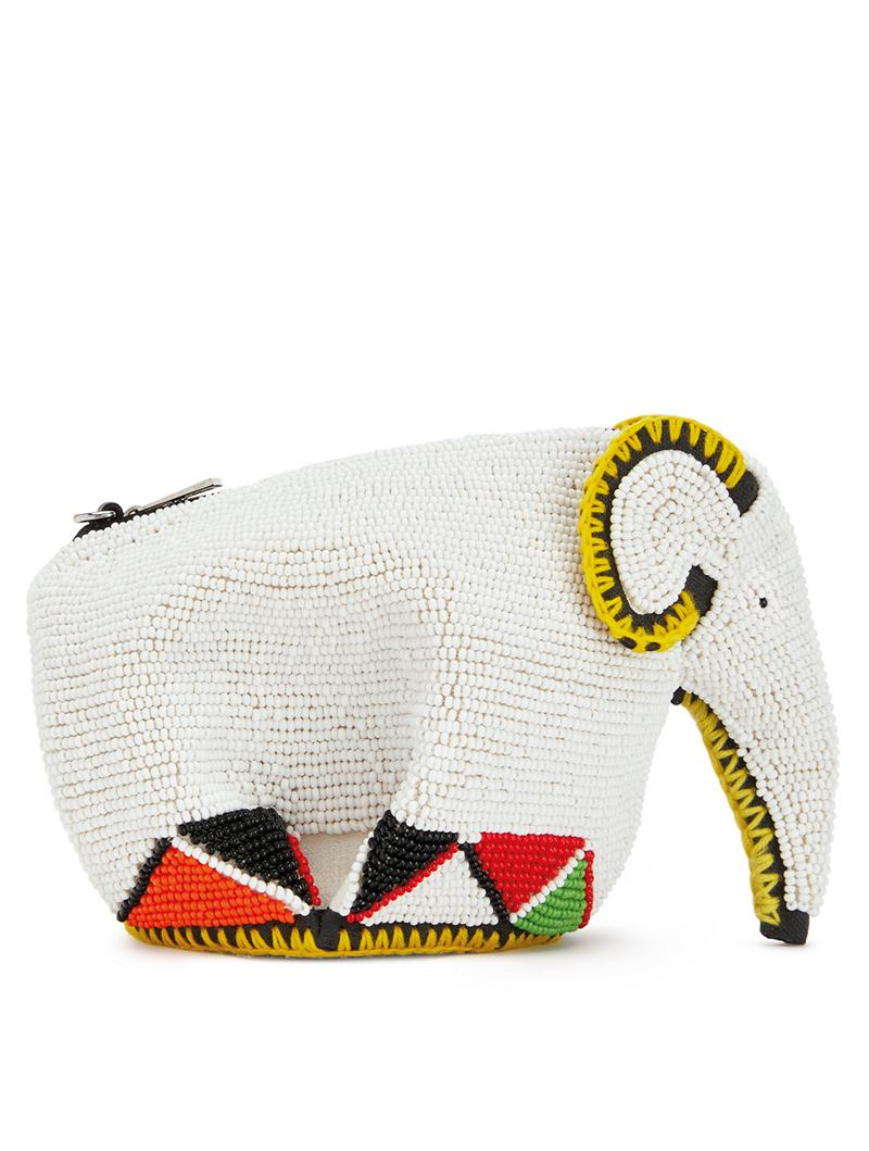 LOEWE X Knot On My Planet Limited Edition Elephant mini bag by LOEWE, available on holtrenfrew.com for $2300 Candice Swanepoel Bags Exact Product