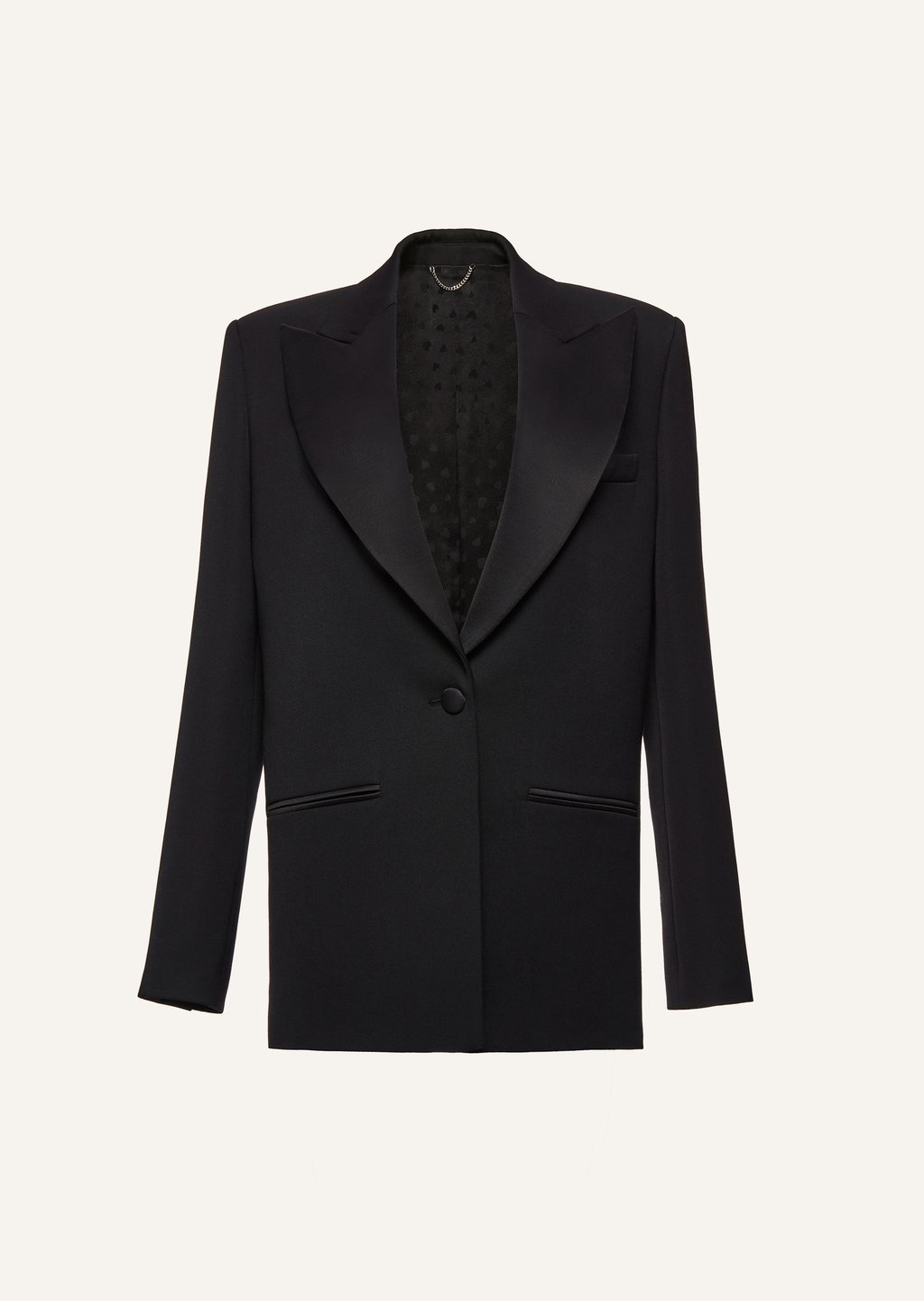Tailored Blazer in black by Magda Butrym, available on magdabutrym.com for $1445 Candice Swanepoel Outerwear Exact Product