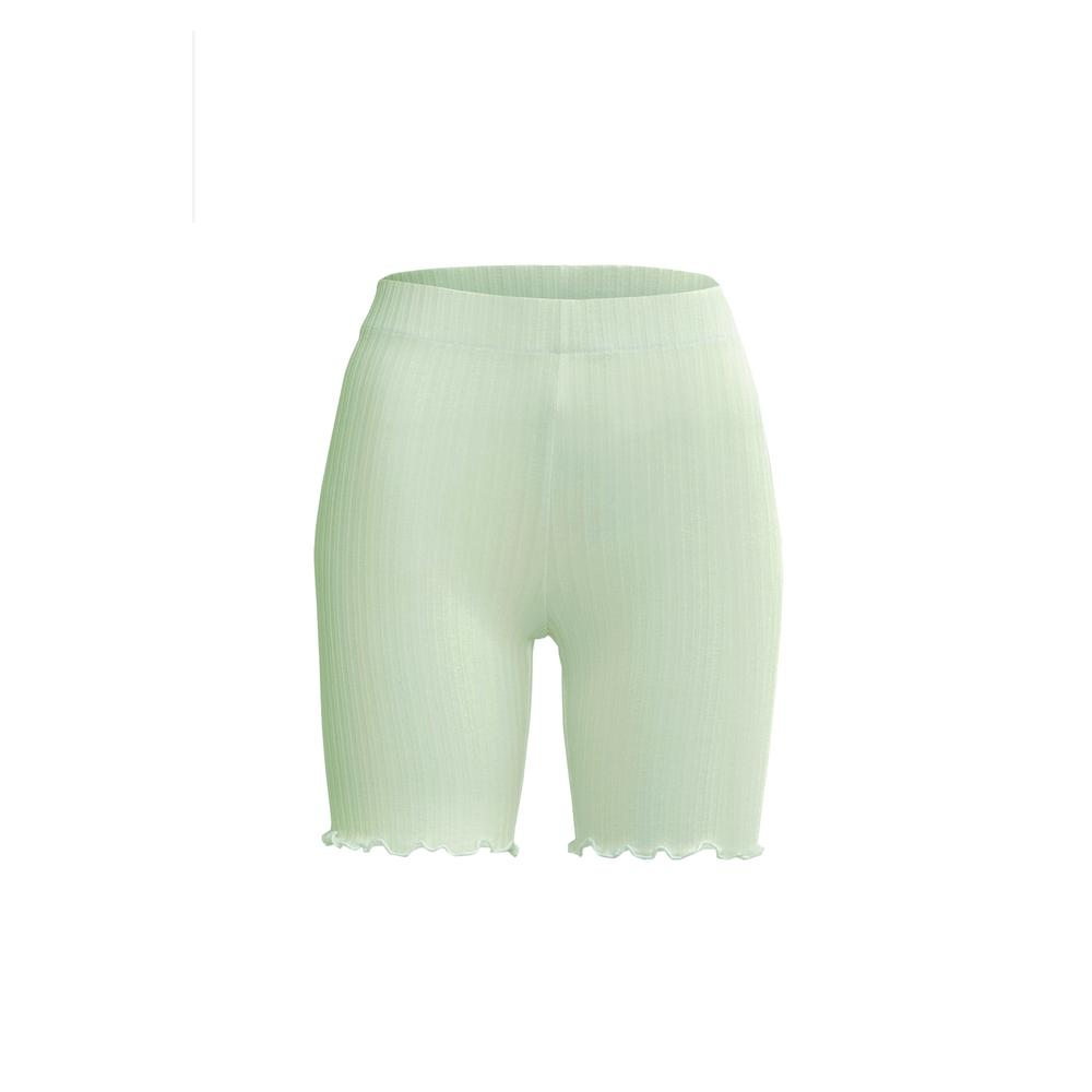 adagio short in mint by Tropic of C, available on tropicofc.com for $88 Candice Swanepoel Shorts Exact Product