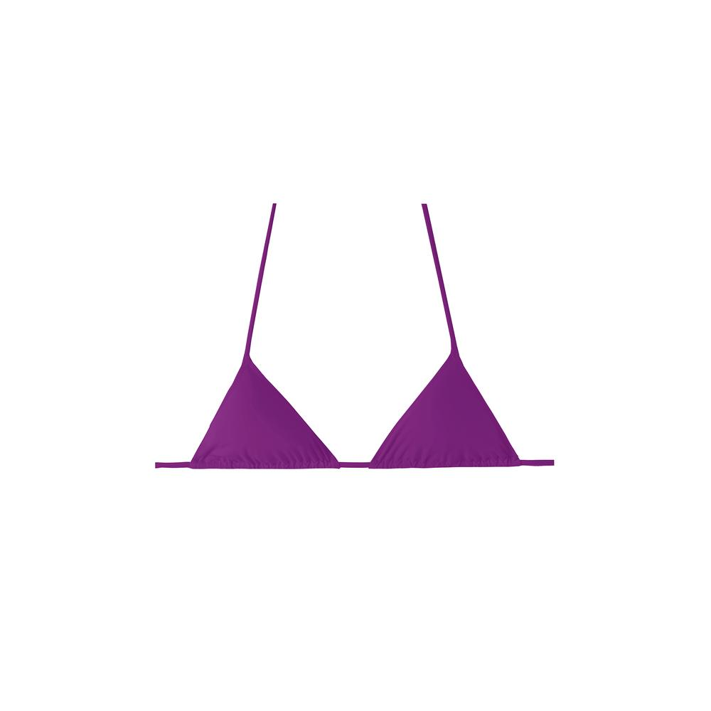 equator top in violet by Tropic of C, available on tropicofc.com for $80 Candice Swanepoel Top Exact Product