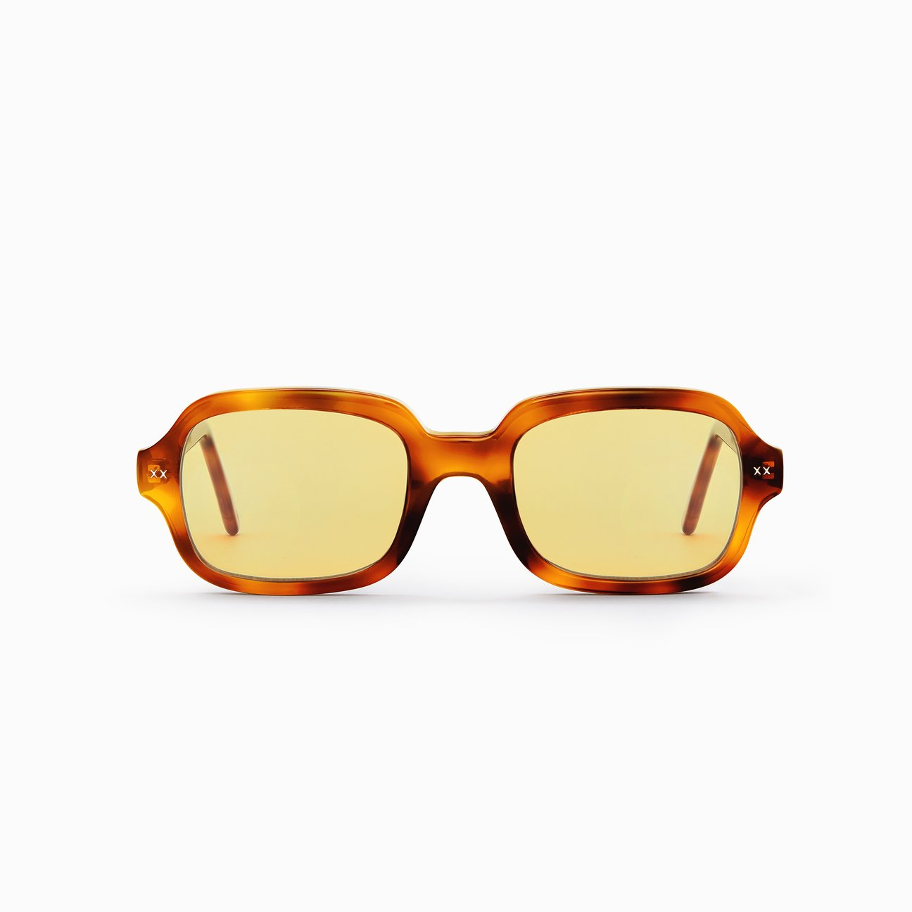 Jordy / Tortoise / Yellow by Lexxola, available on lexxola.com for EUR190 Chantel Jeffries Sunglasses Exact Product