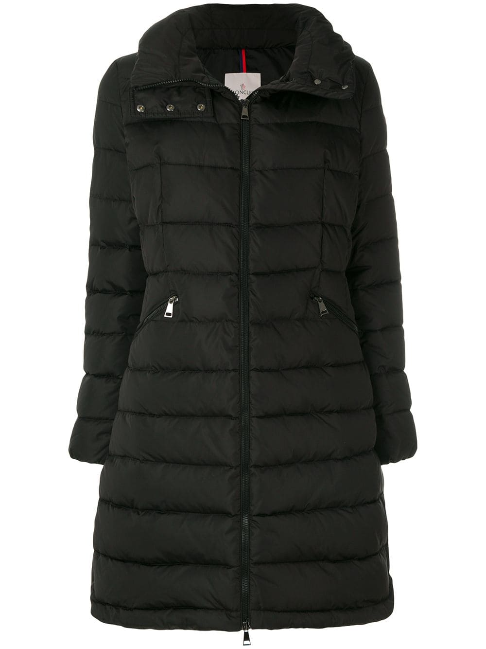 Flammette padded coat by Moncler, available on farfetch.com for EUR1802 Cindy Crawford Outerwear Exact Product