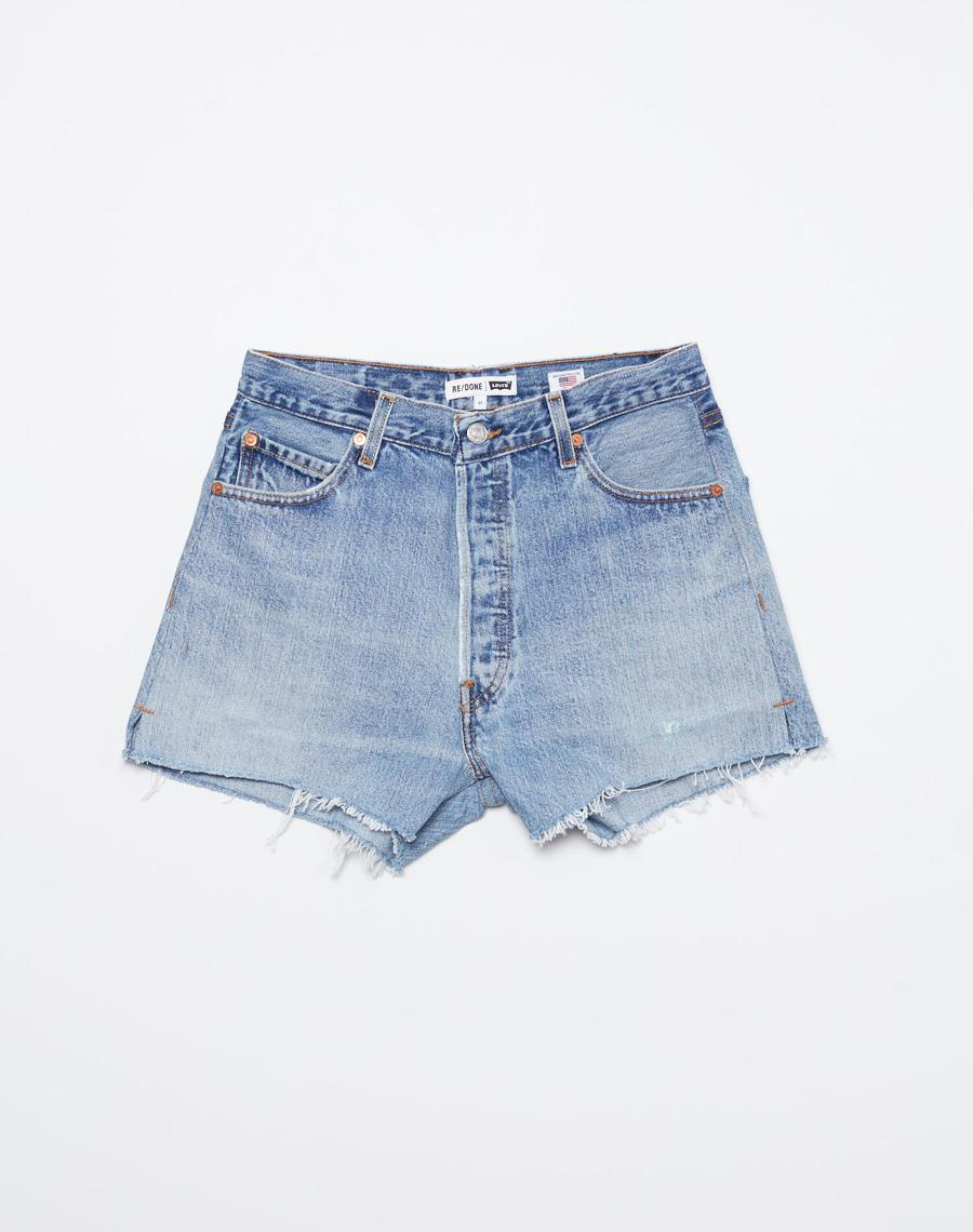 High Rise Short by Re Done, available on shopredone.com for $195 Devin Brugman Shorts Exact Product
