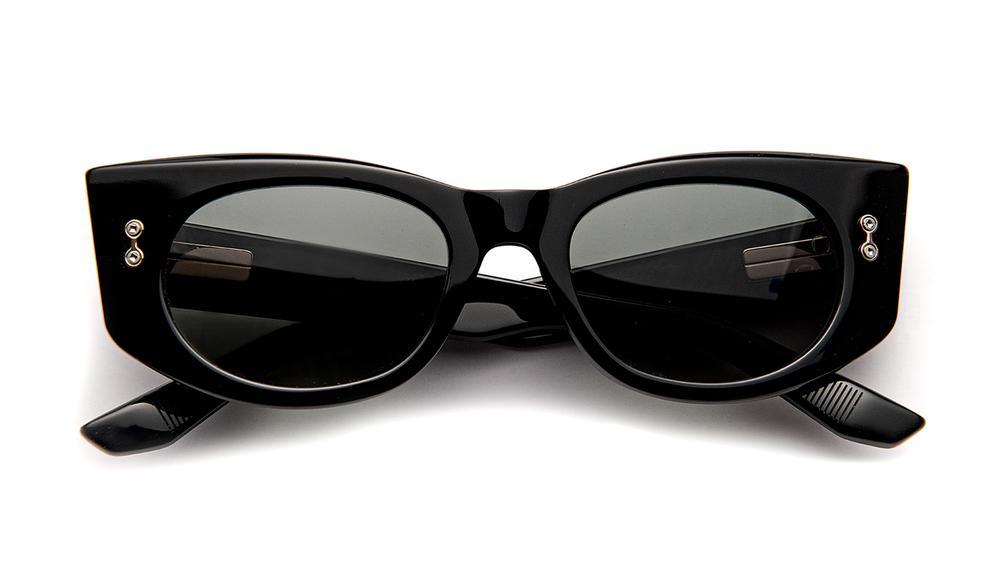 AKONI by AQUILA, available on blackoptical.com for $590 Elsa Hosk Sunglasses Exact Product