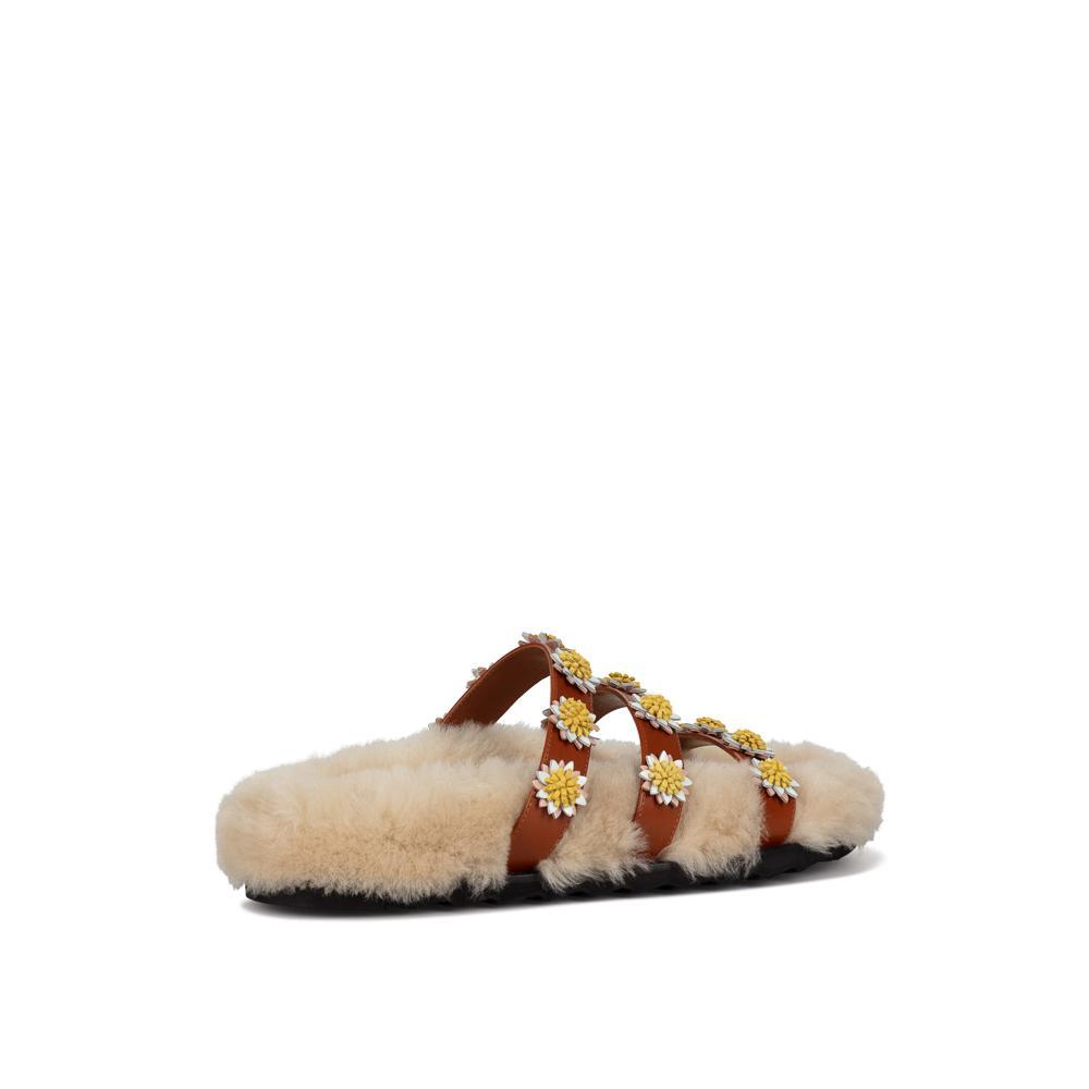 Berkley Daisy Slide by fabrizioviti, available on fabrizioviti.com for EUR520 Elsa Hosk Shoes Exact Product