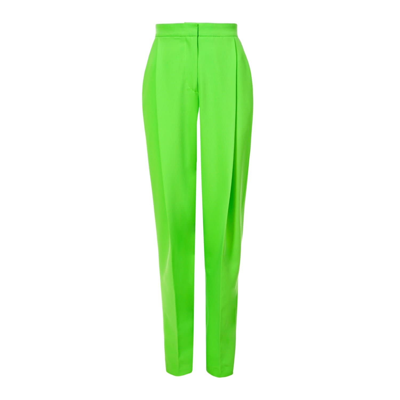Blake Green Flash Pants by Aggi, available on wolfandbadger.com for $225 Elsa Hosk Pants Exact Product