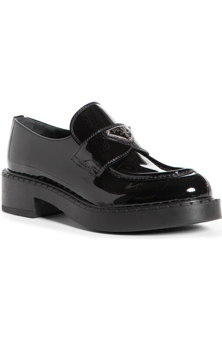 Logo Platform Loafer by Prada, available on nordstrom.com Elsa Hosk Shoes Exact Product