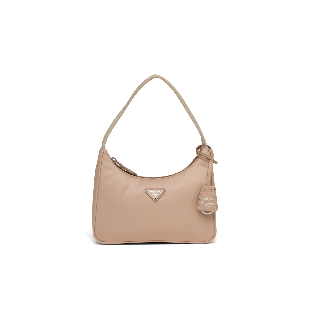 Re-Edition 2000 nylon mini-bag by Prada, available on prada.com for $725 Elsa Hosk Bags Exact Product