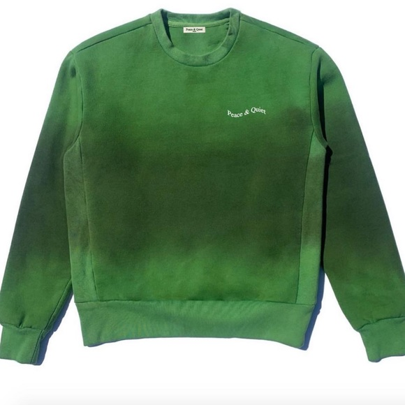 limited release peace & quiet tie dye crewneck by peace & quiet, available on poshmark.com for $78 Elsa Hosk Top Exact Product