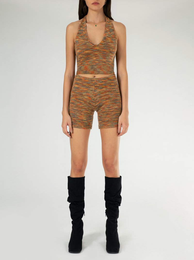 olo by Ruve, available on ruveshop.com for EUR40 Elsa Hosk Shorts Exact Product
