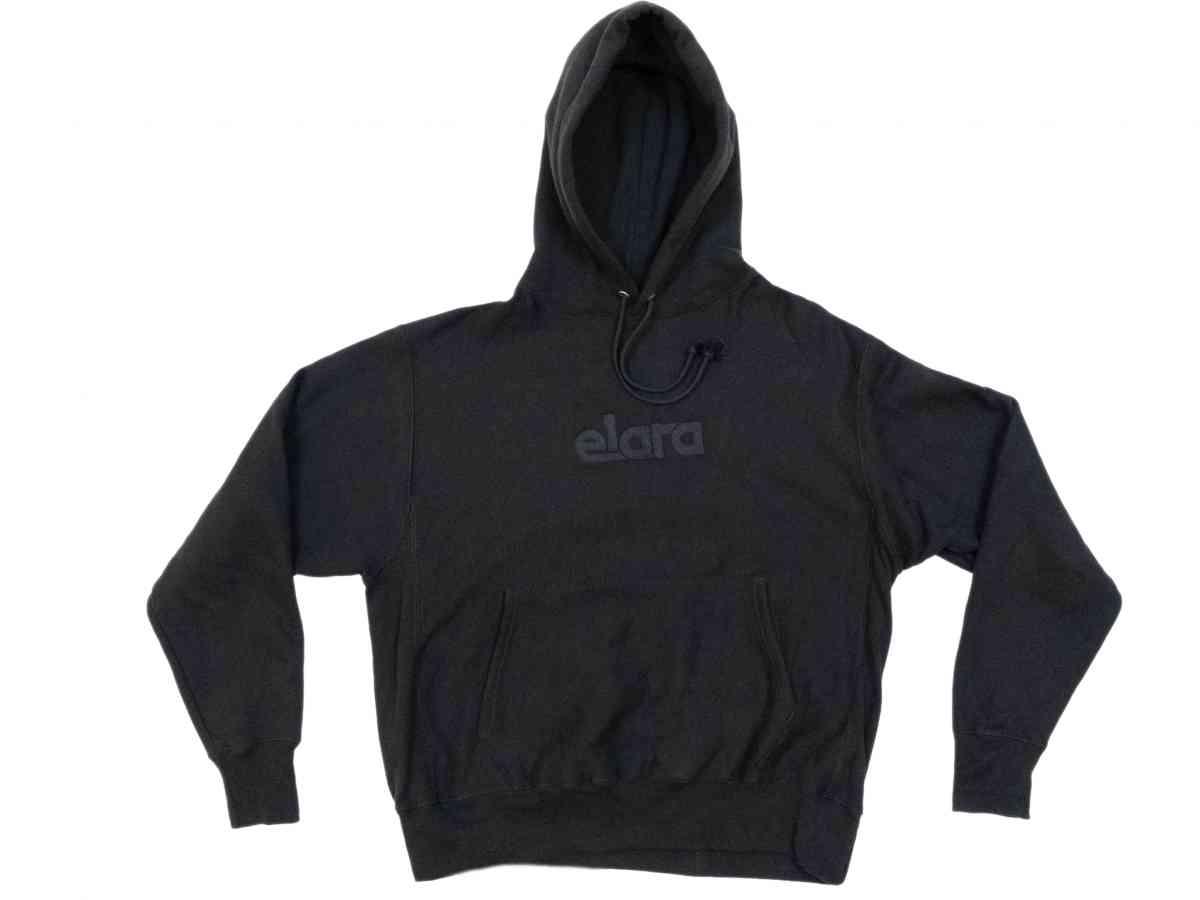 BLACK HOODIE by Elara, available on elarashop.com for $120 Emily Ratajkowski Top Exact Product